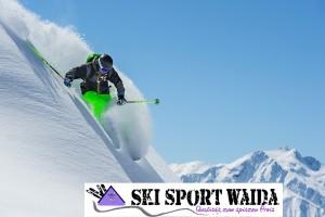 Offpiste-Ski — Freeride